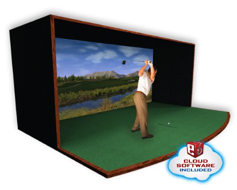 Commercial Grade Golf Simulator Options for Your Indoor Center